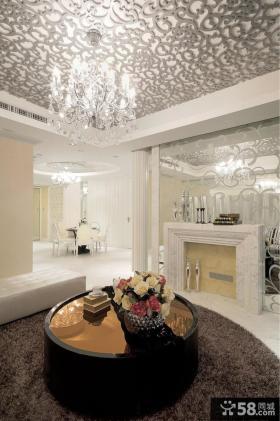 现代欧式三室两厅装修效果图欣赏