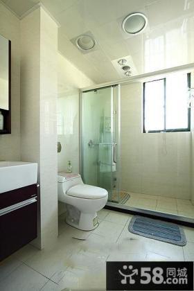 简约卫生间设计图片欣赏大全