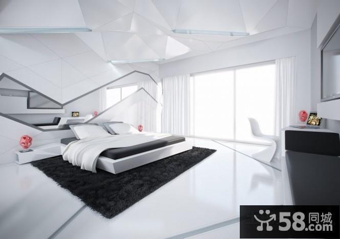 简约欧式卧室装修图