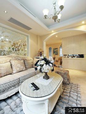 简欧田园设计两居室大全欣赏