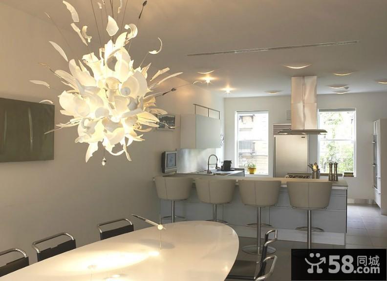 客厅电视背景墙射灯