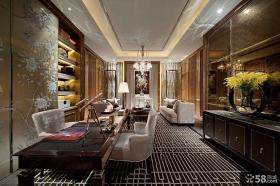 新古典风格装修餐厅图片2014