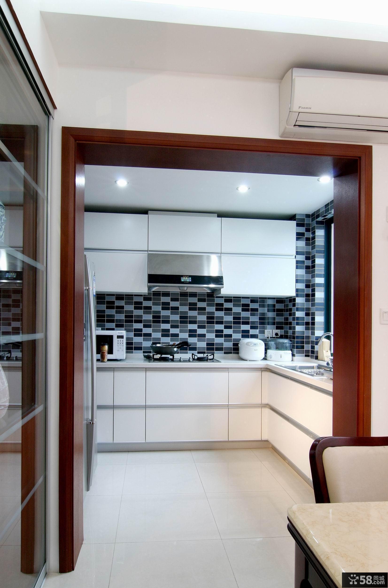 厨房装修效果图大全2016图片小户型