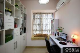 小书房飘窗设计效果图