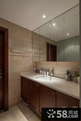 卫生间洗手台设计效果图欣赏