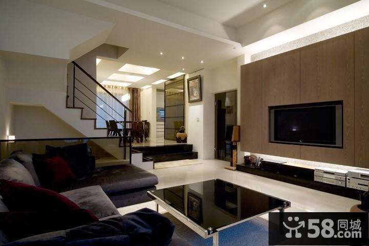 简约中式风格客厅装修