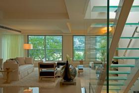 现代别墅客厅装修效果图大全图片
