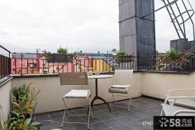 阳台装修效果图 阳台护栏装修效果图欣赏