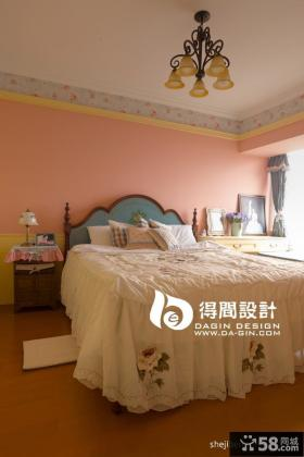 田园风格女生卧室装修效果图