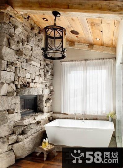美式复古风格卧室