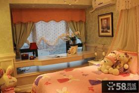 地中海风格粉色儿童房展示