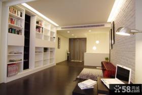 最新简约风格复式书房家居装饰设计图片