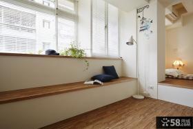 宜家风格公寓飘窗装修图片案例