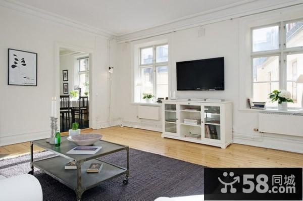 家装客厅电视背景墙效果图