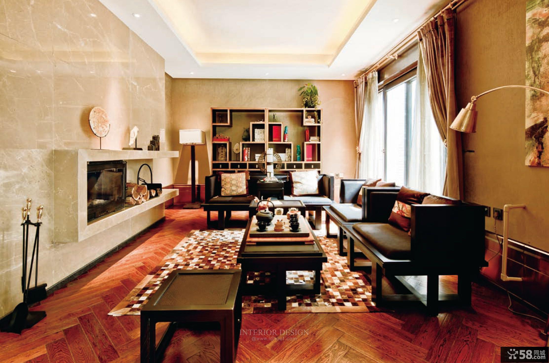 美式风格室内休闲区装修效果图