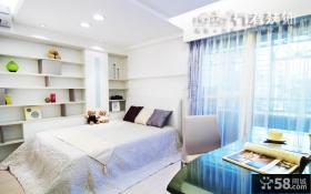 宜家风格100平米二居卧室装修效果图