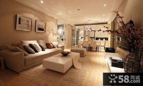 宜家简约家居客厅装修设计图片