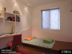 2013年现代小卧室装修效果图大全