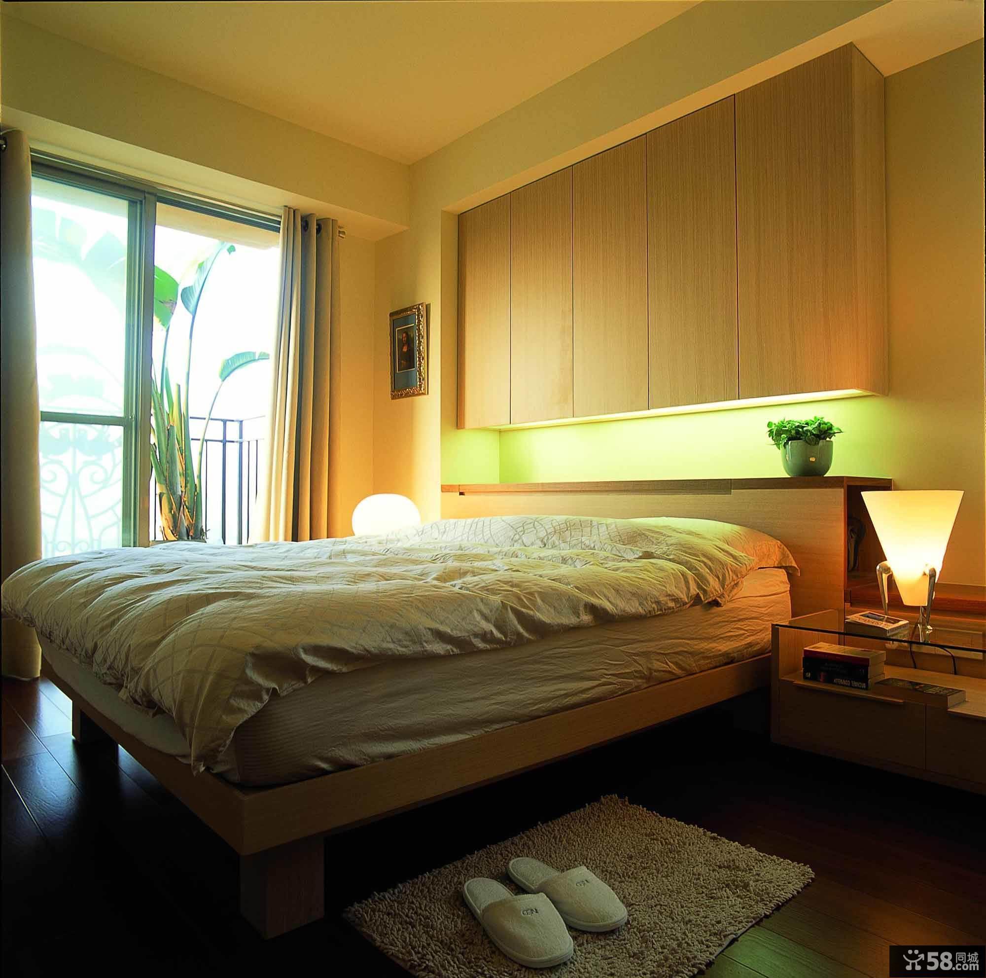宾馆卧室墙纸
