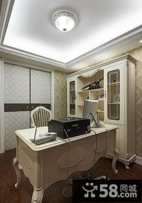 欧式书房装饰设计