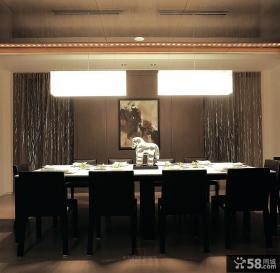 现代餐厅装修风格图片