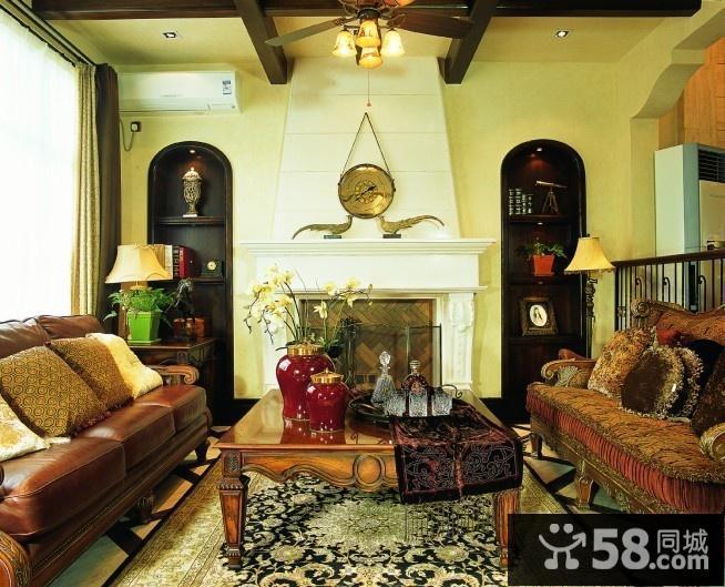 别墅客厅装饰效果