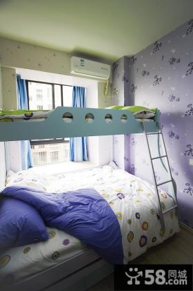 儿童房间双层儿童床图片大全
