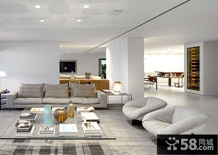 客厅吊顶装修效果图现代简约风格