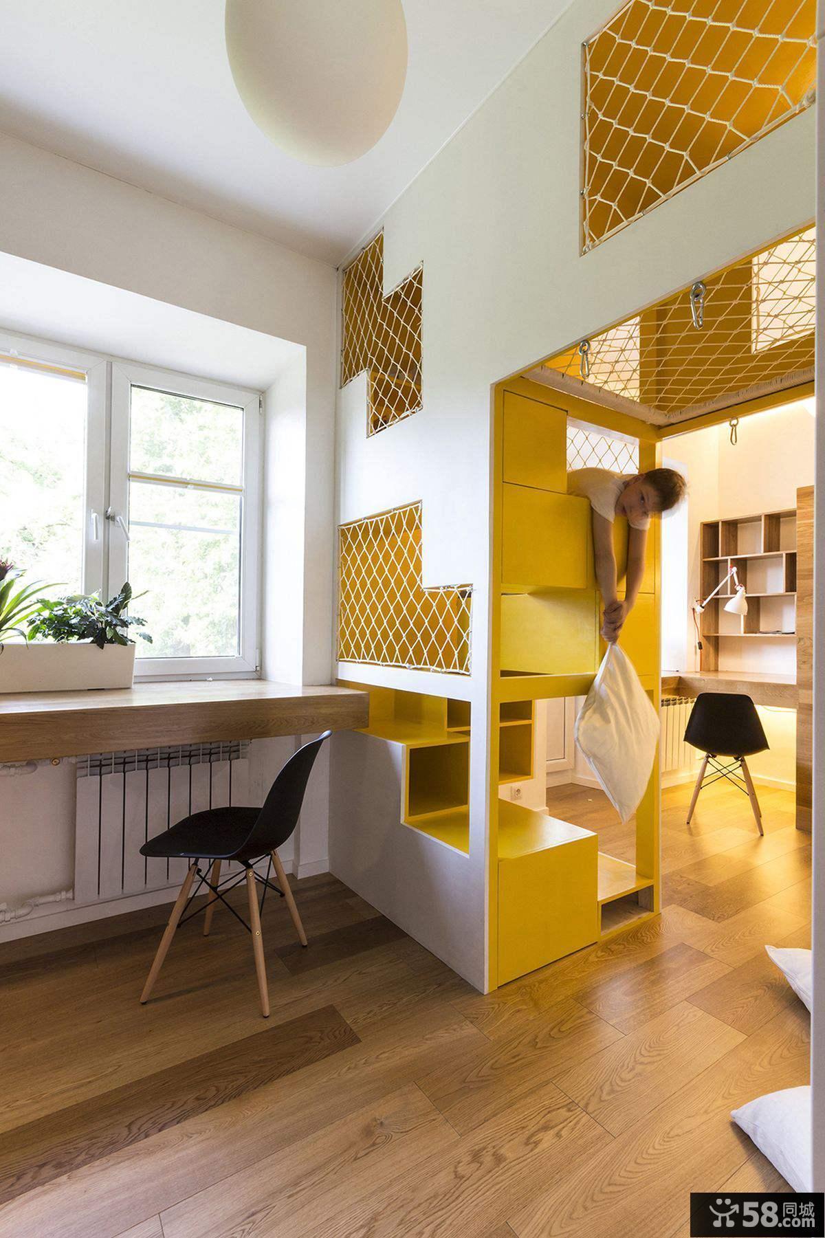 环保节省空间儿童房设计