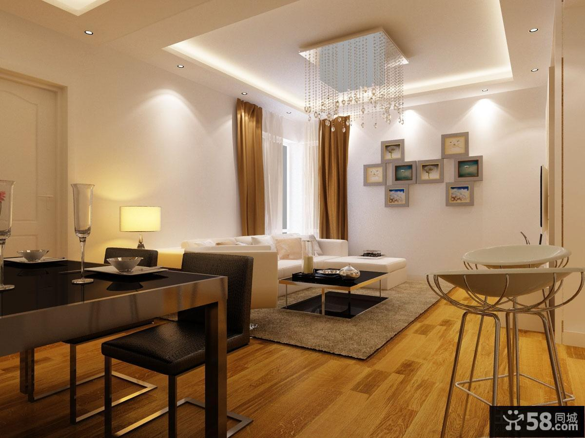 最新现代客厅装修效果图欣赏