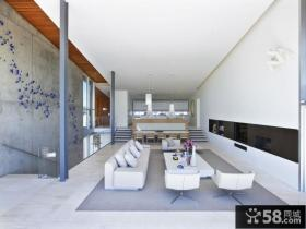 简约日式风格客厅效果图大全欣赏