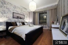 现代简约卧室装修装潢图片