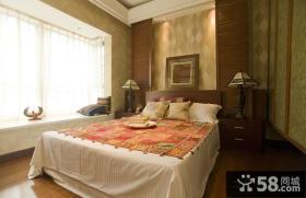 东南亚风格80平米二居卧室效果图