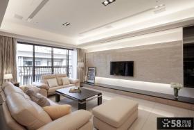 简约家庭客厅设计装饰效果图