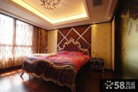 欧式豪华卧室装修效果图欣赏