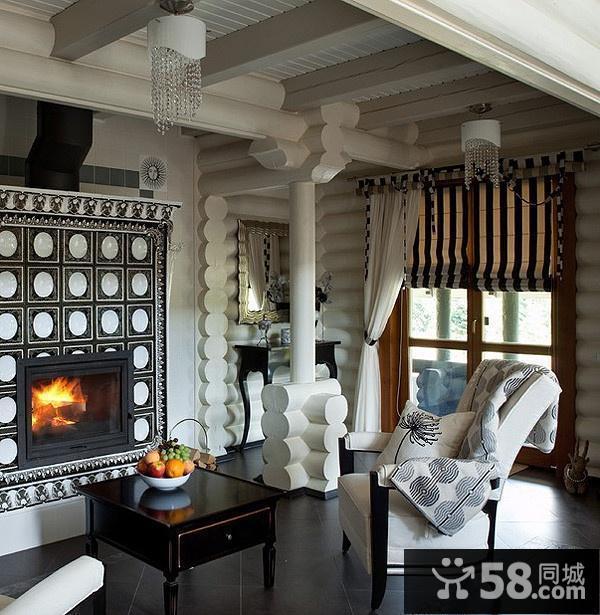 中式小户型客厅