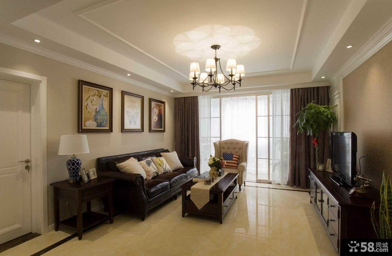 现代简约风格客厅壁纸
