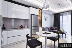 2015最新60平米宜家风格公寓厨房效果图片