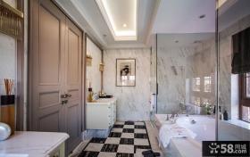 豪华浴室装潢图片