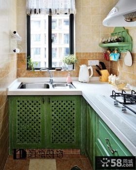 最新开放式厨房装修效果图片欣赏
