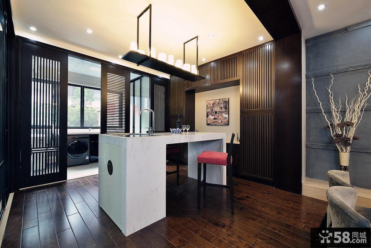 中式风格吧台设计图片