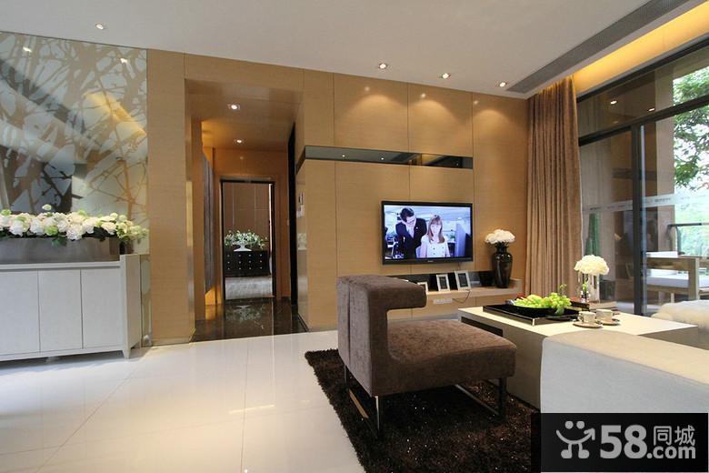 现代简约风格客厅地砖
