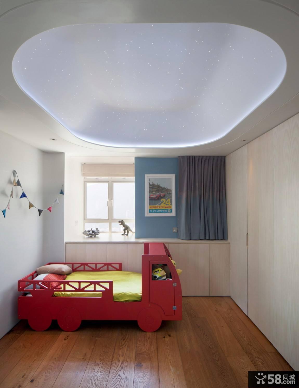 现代简约风格客厅窗帘