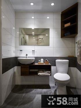 后现代风格小户型卫生间设计效果图