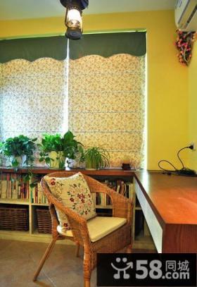 温暖地中海风格书房