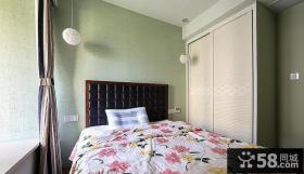 简约卧室房间装饰设计装修效果图