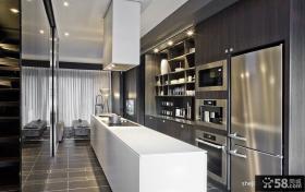2013室内装修效果图开放式厨房图片