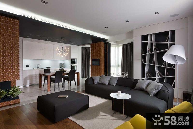 客厅现代简约风格装修