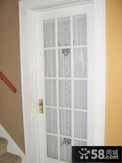 简约浴室门图片