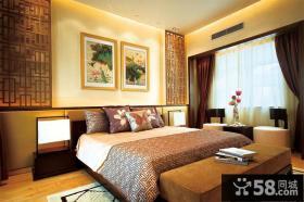 精美简中式卧室装饰大全